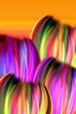Tulipanes abstractos ilustración del vector