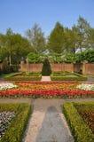 Tulipanes coloridos en el parque de Keukenhof Foto de archivo