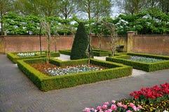 Tulipanes coloridos en el parque de Keukenhof Fotos de archivo