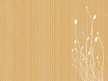 Tulipanes en la madera Foto de archivo libre de regalías