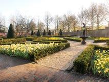 Tulipanes hermosos en el jardín de Keukenhof, Natherlands Imagen de archivo