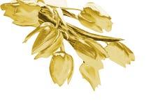 Tulipani dell'oro royalty illustrazione gratis