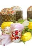 Tulipano del dolce dell'uovo di Pasqua Fotografie Stock Libere da Diritti