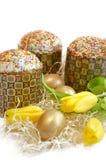 Tulipano del dolce dell'uovo di Pasqua Immagini Stock Libere da Diritti
