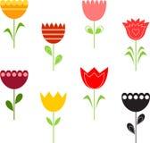 Tulipanowe ilustracje Obrazy Stock