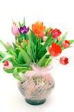 tulipany bukietów Obrazy Royalty Free