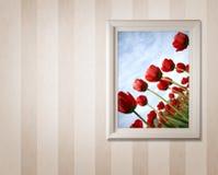 tulipany ramowi obraz stock