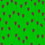 Tulipany Silna zieleń Fotografia Royalty Free