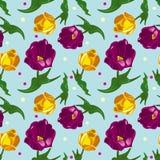 Tulipany tapetowi Zdjęcie Stock