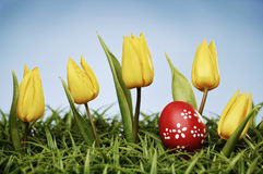 Arranjo de Easter Fotos de Stock
