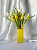 Tulipas em um vaso Fotos de Stock