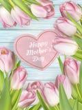 Tulipas para o dia de mães Eps 10 Imagem de Stock Royalty Free