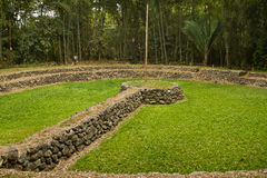 Tulipe Archaeological site museum, Ecuador Stock Photo