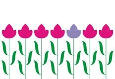 Tulips Ilustração Stock