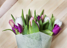 Tulips bouquet Royalty Free Stock Images