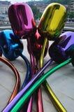 Tulips Sculpture, Bilbao Stock Image