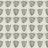 Tulips.Seamless floral pattern royalty free illustration