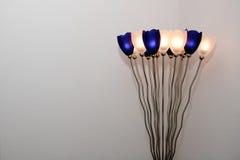 Tulips shape lamp Stock Image