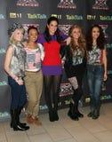 Tulisa, Tulisa Contostavlos, Little Mix Stock Image