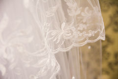 Tulle chiffon texture background. wedding concept Stock Image