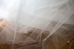 Tulle chiffon texture background. wedding concept Royalty Free Stock Images
