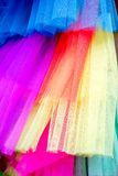Tulle colors Stock Photography