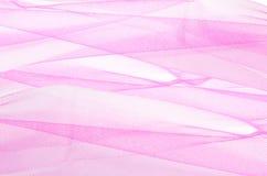 Tulle rosa Immagine Stock