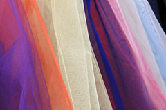 tulle textile, fabrics Royalty Free Stock Images