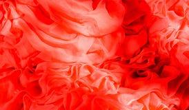 Tulle vermelho Imagens de Stock Royalty Free