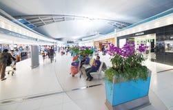 Tullfri shopping, Bangkok flygplats Arkivbilder