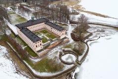 Tullgarn宫殿鸟瞰图 图库摄影