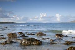 Tully Cross Beach, Connemara National Park; County Galway Stock Image