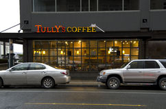 Tully's Coffee Seattle Stock Photos