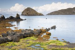 Tulm Bay; Isle of Skye; Scotland Stock Images