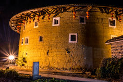 Tulou buildings in South China.  Stock Photography
