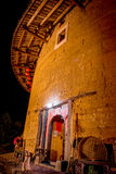 Tulou buildings in South China.  Royalty Free Stock Photo