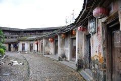 Tulou chino del daoyunlou del caozhou Fotografía de archivo libre de regalías