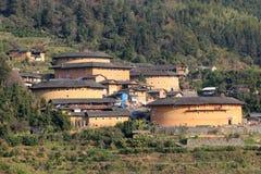Tulou de Chenqi fujian Imagens de Stock Royalty Free