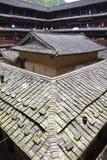 Tulou en China Imagenes de archivo