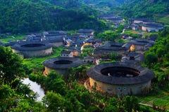 Tulou Fujian stock afbeelding