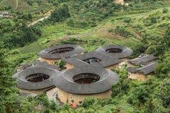Tulou, Fujian Fotografia Royalty Free