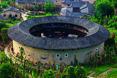 Tulou Fujian Arkivbild