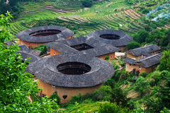 Tulou Fujian Fotografering för Bildbyråer