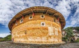 Tulou-Gebäude in der Südchina lizenzfreies stockbild