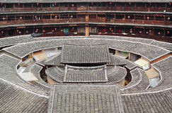 Tulou,a historical site. In Fujian china.World Heritage Royalty Free Stock Photography