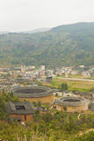 Tulou, a historical site in Fujian china. World Heritage. Royalty Free Stock Photo