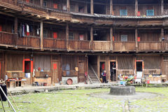 Tulou interior Stock Photography