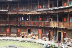 Tulou interior Stock Photos