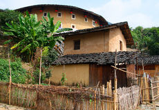 Tulou, traditional dwelling ethnic Hakka Royalty Free Stock Image