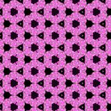 Tulpanblommatapet i violetta cirklar royaltyfri foto
